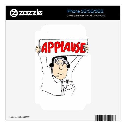 Aplauso Skin Para El iPhone 3G