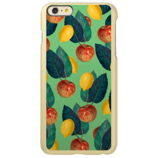 aples and lemons green incipio feather shine iPhone 6 plus case