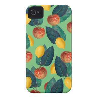 aples and lemons green iPhone 4 Case-Mate case