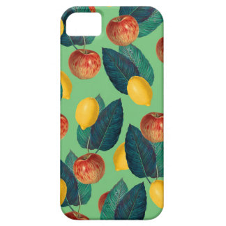 aples and lemons green iPhone SE/5/5s case