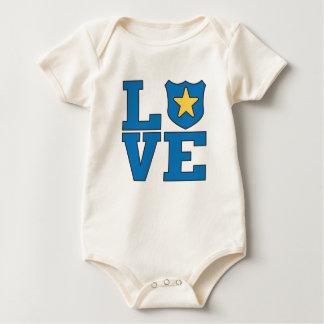 Aplicación de ley del amor body para bebé