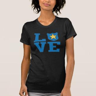 Aplicación de ley del amor camisetas