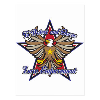 Aplicación de ley Eagle Tarjetas Postales