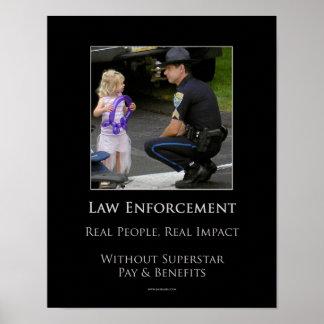 Aplicación de ley póster