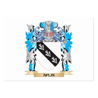 Aplin Coat Of Arms Business Card Templates