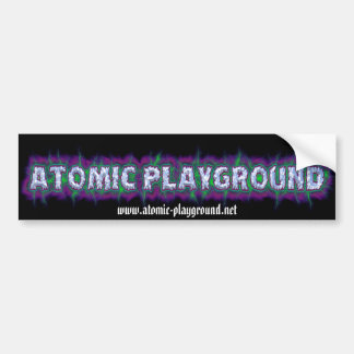 APLogoBumper, www.atomic-playground.net Pegatina Para Auto
