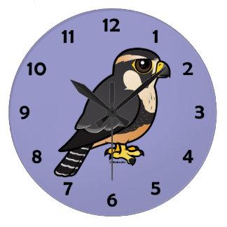 Aplomado Falcon Wall Clock