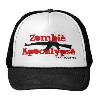 Apocalipsis AK47 del zombi equipado Gorra