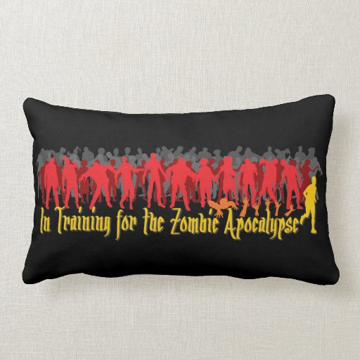 Apocalipsis del zombi almohada