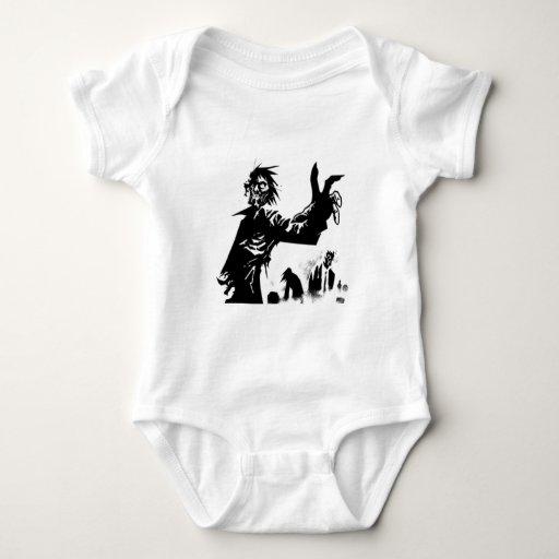 Apocalipsis del zombi body para bebé