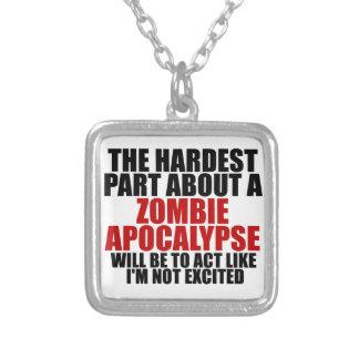 Apocalipsis del zombi joyería
