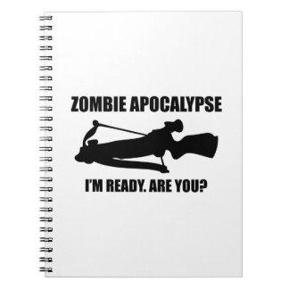Apocalipsis del zombi estoy listo soy usted note book