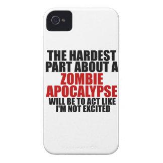 Apocalipsis del zombi Case-Mate iPhone 4 coberturas