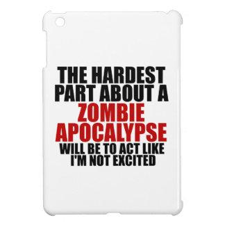 Apocalipsis del zombi iPad mini funda