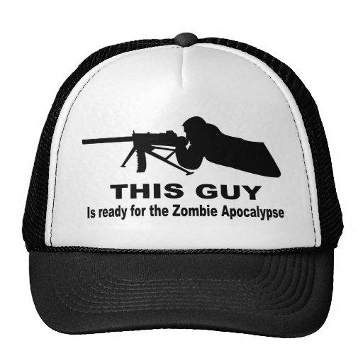 Apocalipsis del zombi gorra