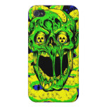 Apocalipsis del zombi iPhone 4 protector