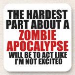 Apocalipsis del zombi posavasos