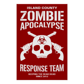 Apocalipsis del zombi póster