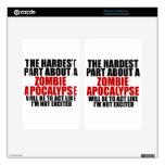 Apocalipsis del zombi pegatina skin para kindle fire