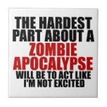 Apocalipsis del zombi teja