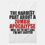 Apocalipsis del zombi toallas