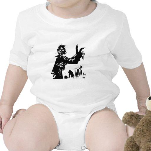 Apocalipsis del zombi trajes de bebé