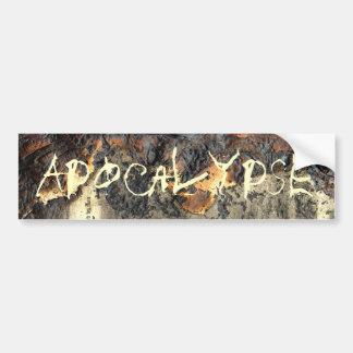 Apocalypse Bumper Sticker