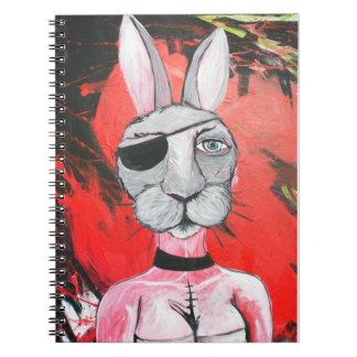 Apocalypse Bunny Friend Notebook