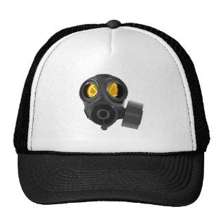 apocalypse gasmask trucker hat