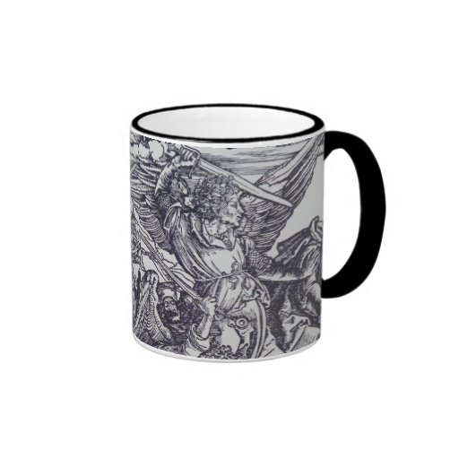 Apocalypse: Medieval battle scene Ringer Mug
