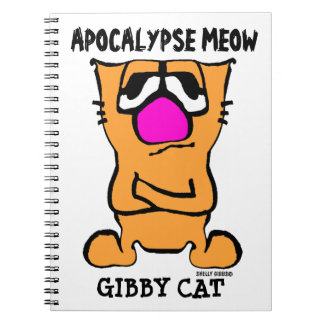 APOCALYPSE MEOW, Funny Gibby Cat Notebook