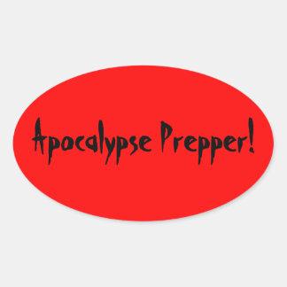 Apocalypse prepper sticker