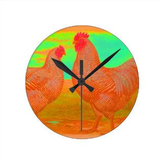 Apocalypse Round Clock