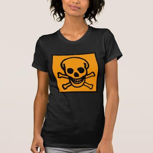 APOCALYPSE SKULL & CROSS BONES by Zombie Ghetto Shirts