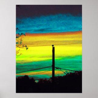 Apocalypse Sunset Posters