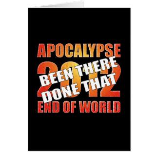Apocalypse Survivor (New Year Card) Card