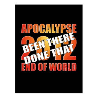 Apocalypse Survivor Postcard