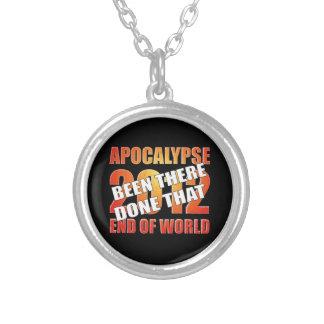 Apocalypse Survivor Silver Plated Necklace