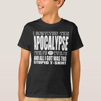 Apocalypse Survivor T-Shirt (For Dark)