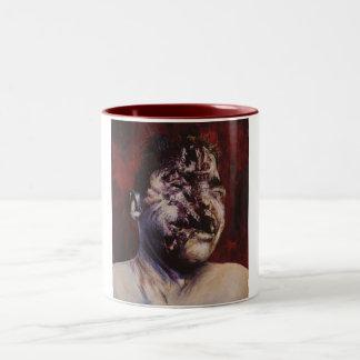 apocalypse Two-Tone coffee mug