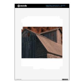 Apocalyptic Barn Sky iPad 3 Decals