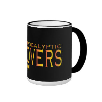 Apocalyptic Lovers 15 oz. Cup O Joe! Ringer Coffee Mug