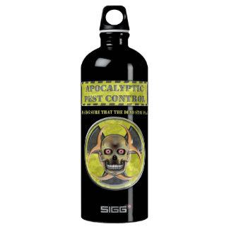 Apocalyptic Pest Control Aluminum Water Bottle