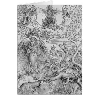 Apocalyptical scene card
