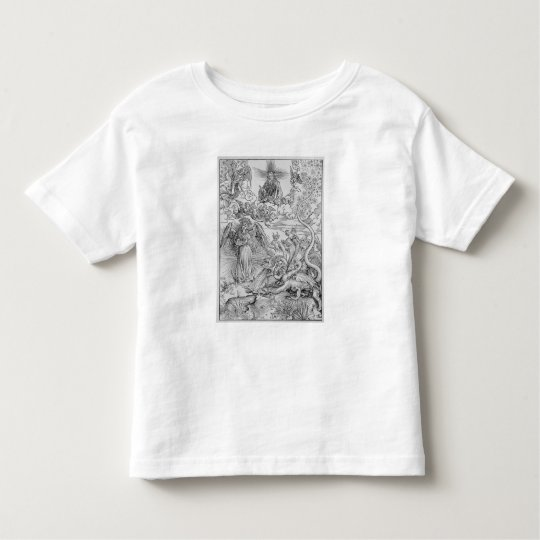 Apocalyptical scene toddler t-shirt