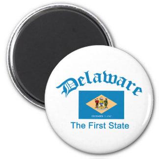 Apodo de Delaware Imán Redondo 5 Cm
