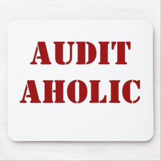 Apodo grosero del interventor - Auditaholic Tapete De Ratones