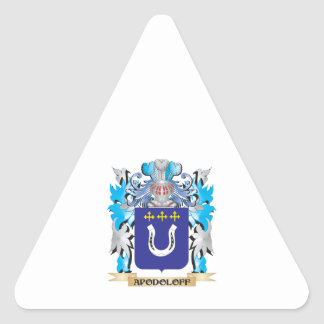 Apodoloff Coat Of Arms Stickers