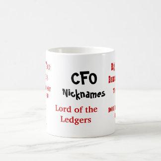 ¡Apodos de CFO Multi-echado a un lado Tazas