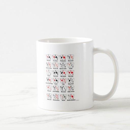 Apodos de la mano de póker taza clásica